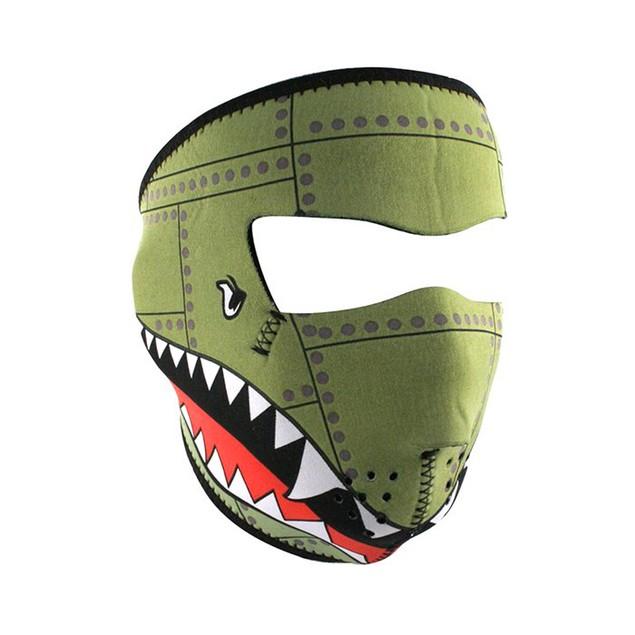 Bomber Graphical Neoprene Full Face Mask