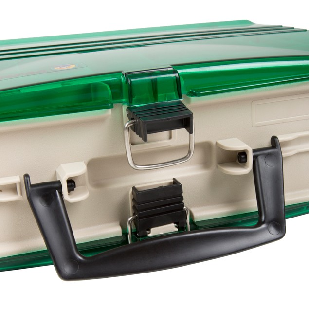 Wakeman Fishing Two Sided Tackle Box - 12 x 9 x 4 Inches