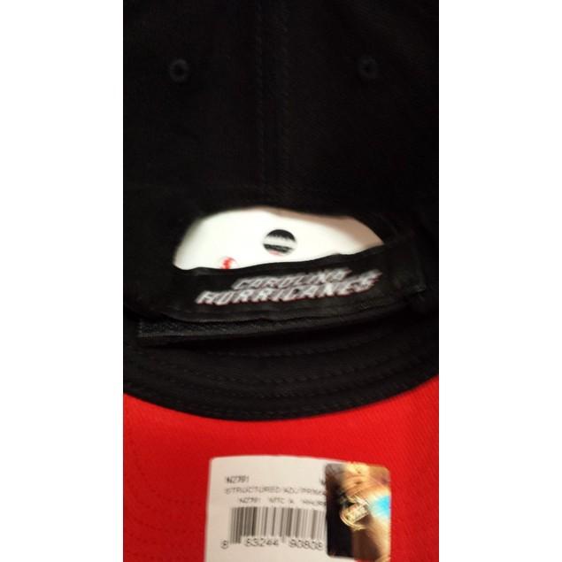 """Carolina Hurricanes NHL Reebok """"Structured"""" Team Color Adjustable Hat New"""