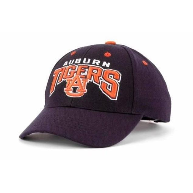 """Auburn Tigers NCAA TOW """"Dedication"""" Snapback Hat"""