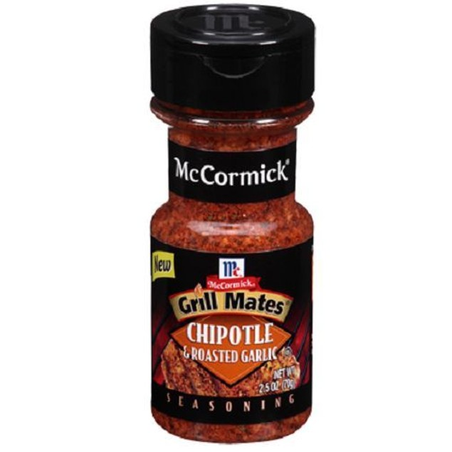 McCormick Grill Mates Chipotle & Roasted Garlic Seasoning 2.5 oz Bottle