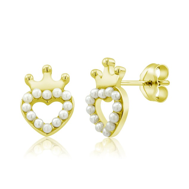 Sterling Silver Freshwater Pearl Stud Earrings - Assorted Styles
