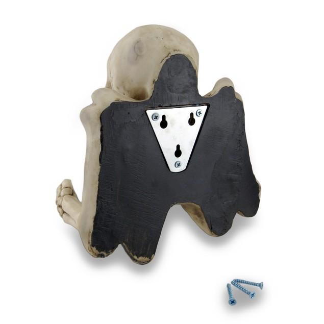 Evil Skeleton Sculptural Toilet Tissue Holder Toilet Paper Holders