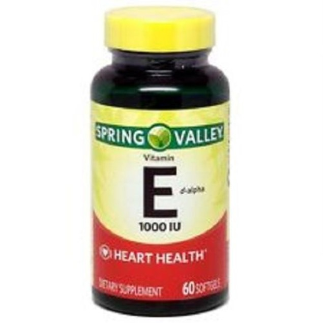 Spring Valley Vitamin E d-alpha 1,000 IU Softgels