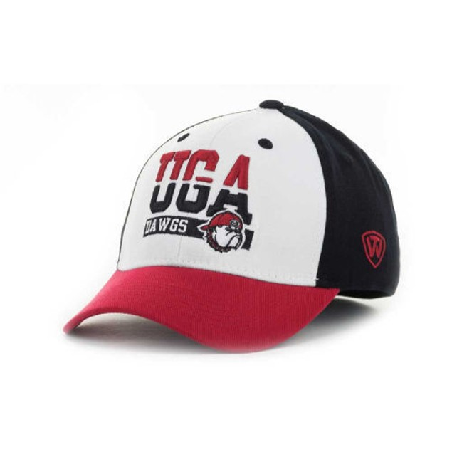 "Georgia Bulldogs NCAA TOW ""Break-Up"" Stretch Fitted Hat"