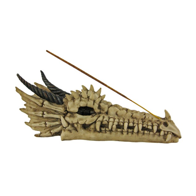 Cool Dragon Skull Stick Incense Burner Incense Holders
