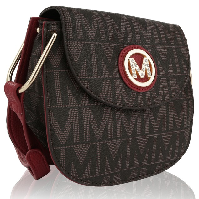 MKF Collection Paola Milan M Signature Cross Body Bag by Mia K Farrow