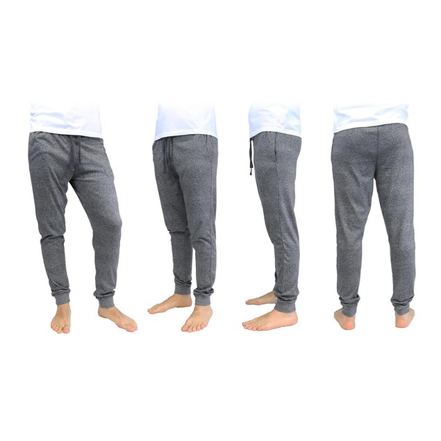 Men's Soft Knit Marled Jogger Lounge Pants (S-2X)