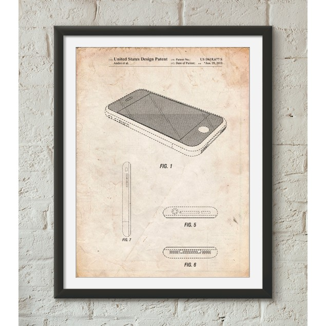 iPhone 3 Patent Poster