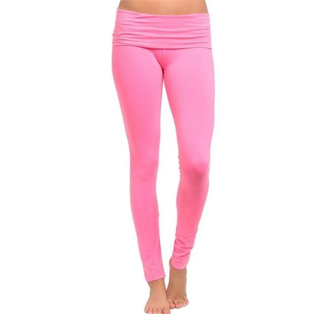 Neon Color Yoga Pants - 5 Colors