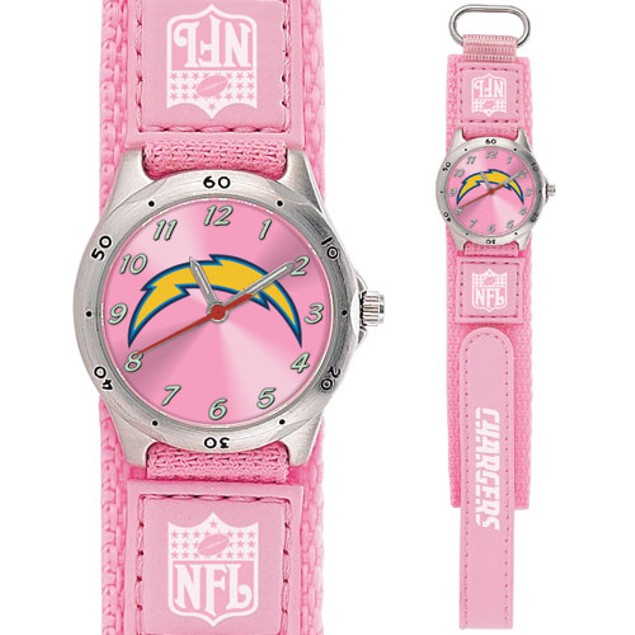 San Diego Chargers Girls NFL Watch