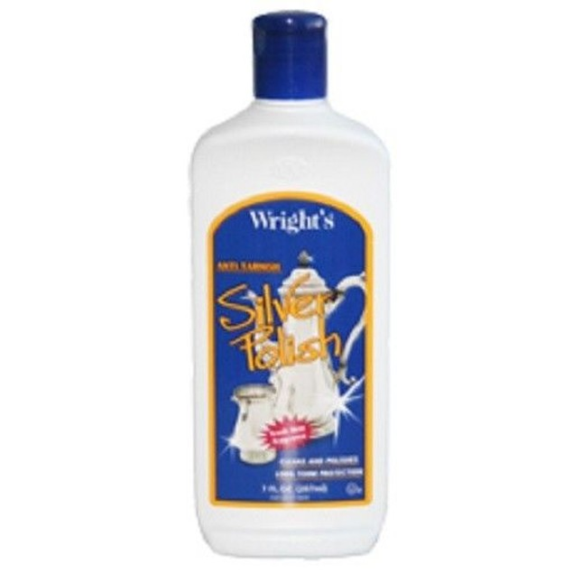 Wright's Anti Tarnish Silver Polish Liquid 7oz Bottle
