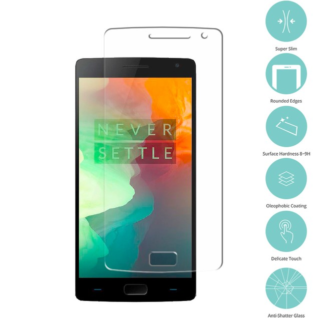 OnePlus 2 Tempered Glass Film Screen Protector Clear