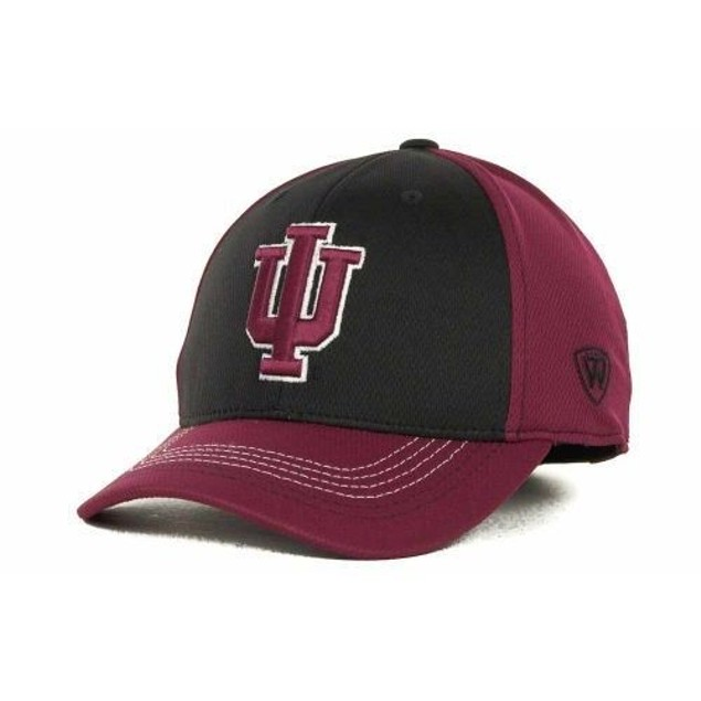 """Indiana Hoosiers NCAA TOW """"Goal Line"""" Stretch Fitted Hat"""