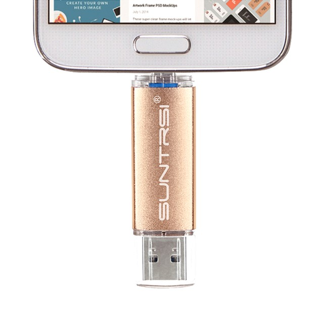 Dual USB Flash Drive for Android Devices