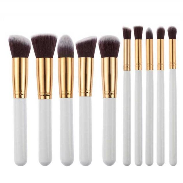 10pcs Makeup Brushes Set Powder Foundation Eyeshadow Tool