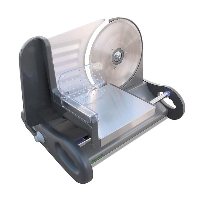 Shamrock  X-Large 8.5 Stainless Steel Food Slicer w/Speed Control