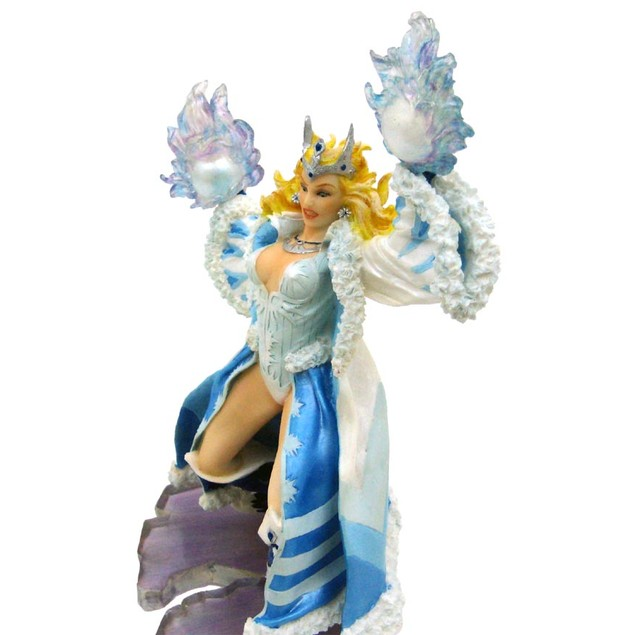Wizardess Of The North Elemental Fantasy Figure Statues