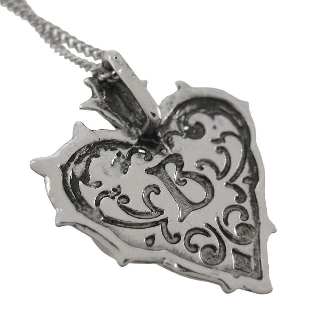 Barbed Heart Eternal Love Pendant / Necklace Womens Pendant Necklaces