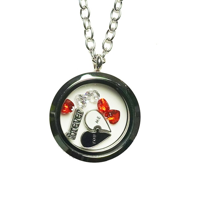 You and Me Forever Magnetic Locket