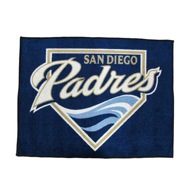 Licensed San Diego Padres 34 Inch By 45 Inch Floor Sports Fan Doormats