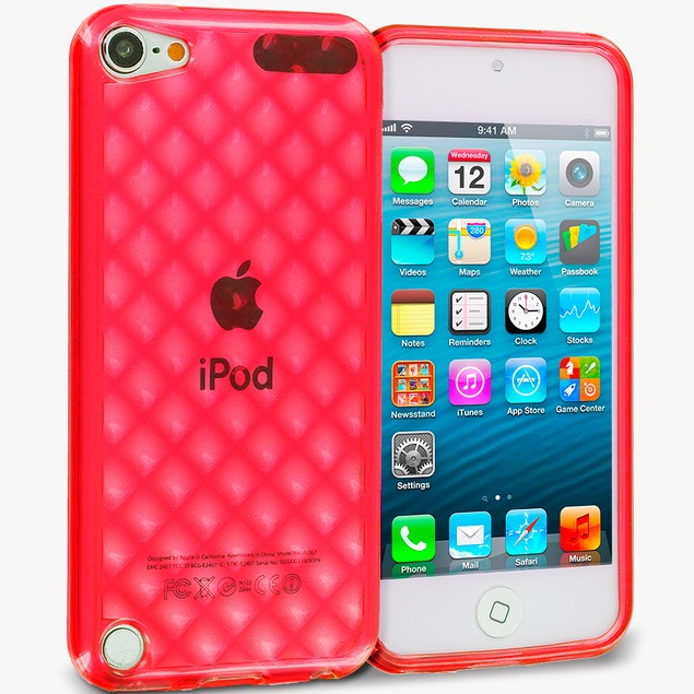 Apple iPod Touch 5th Gen TPU Rubber Case Cover