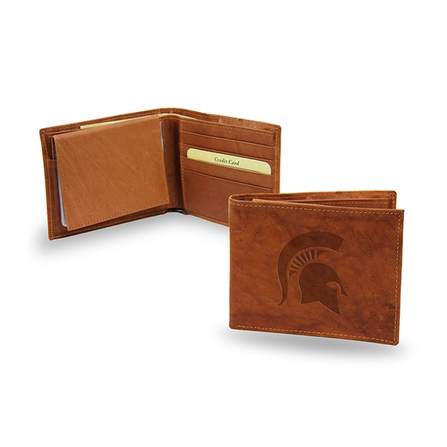 Michigan State Leather Manmade Bifold