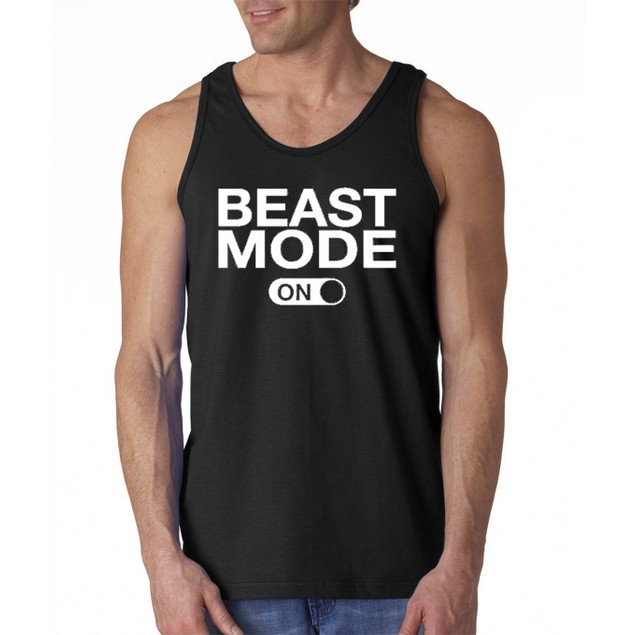 Beast Mode Graphic Tank Top