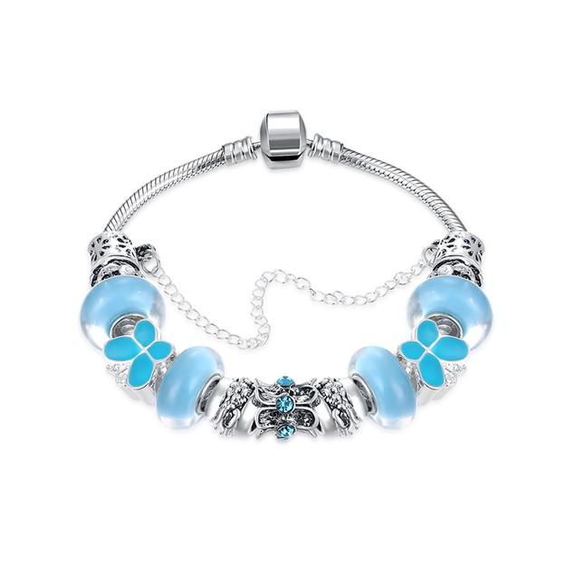 Sky Blue  Butterfly Designer Inspired Bracelet