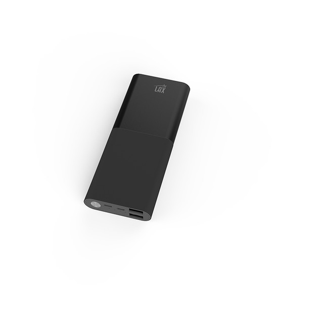 LAX Pro Series 12,000mAh Dual USB Port Power Bank