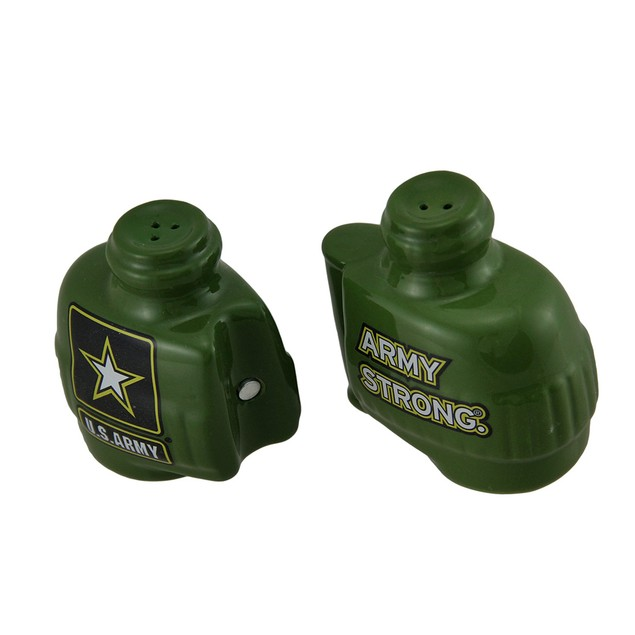 Army Strong Binoculars S&P Shakers Salt And Pepper Shaker Sets