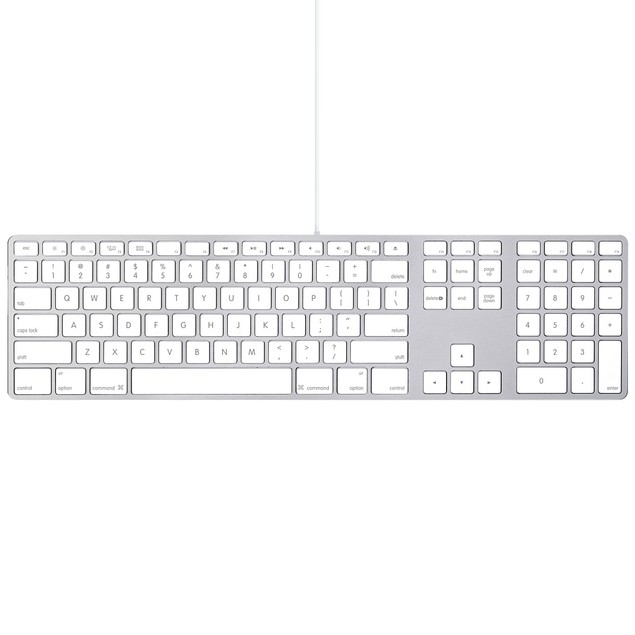 Apple Keyboard With Numeric Keypad (MB110LL/B)