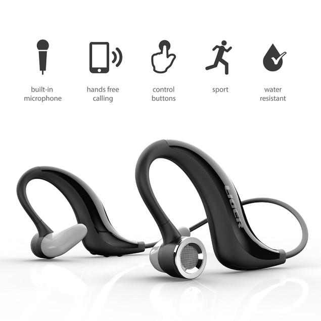 XS300 Bluetooth Headphones + Sweat Proof Armband