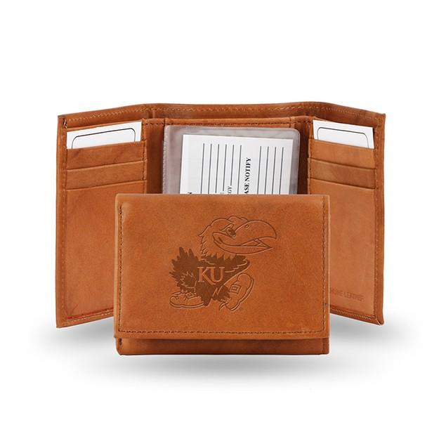 Kansas Leather Manmade Trifold