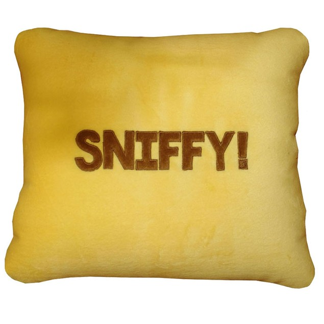 """""""Sniffy"""" The Sad Dog Plush Pillow & Pet in One"""
