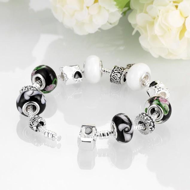 Black & White Designer Inspired Bracelet