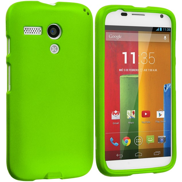 Motorola Moto G Hard Rubberized Case Cover