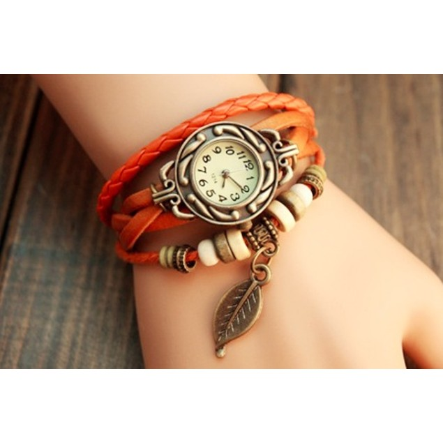 Vintage Inspired Boho Leather Watch