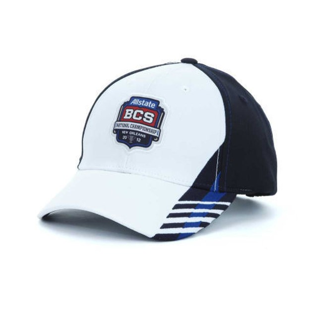 NCAA BCS National Championship Hat Navy Blue/White