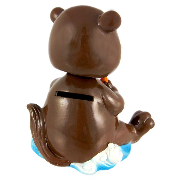 Cute Bobble Head Sea Otter Money Bank Piggy Toy Banks