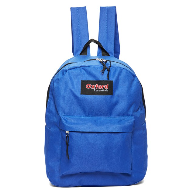 Oxford Essentials Two Pocket Zipper Backpack