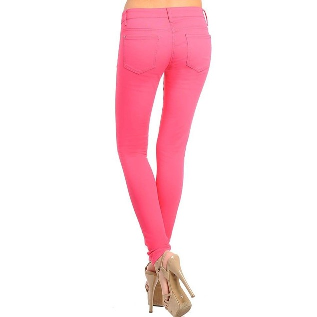 Fuchsia Super Skinny Jeans Juniors Sizes New With Tags