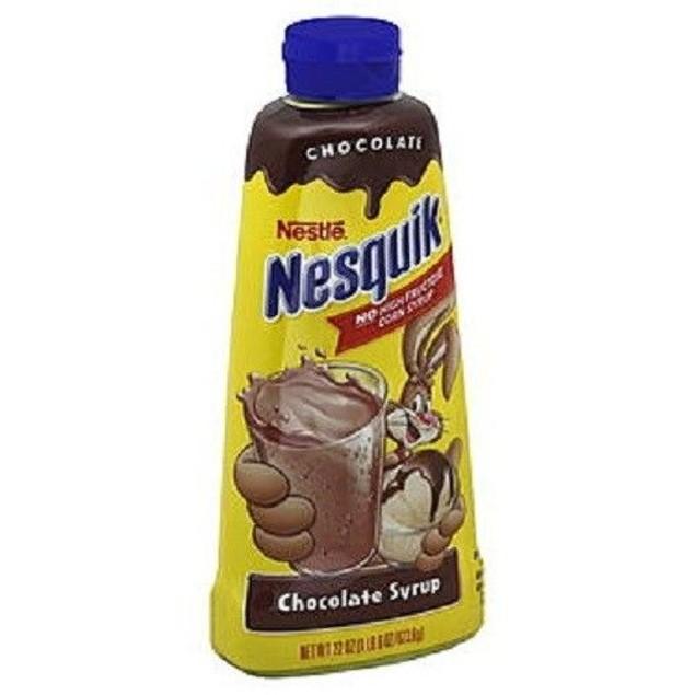 Nestle Nesquik Chocolate Syrup 22 oz