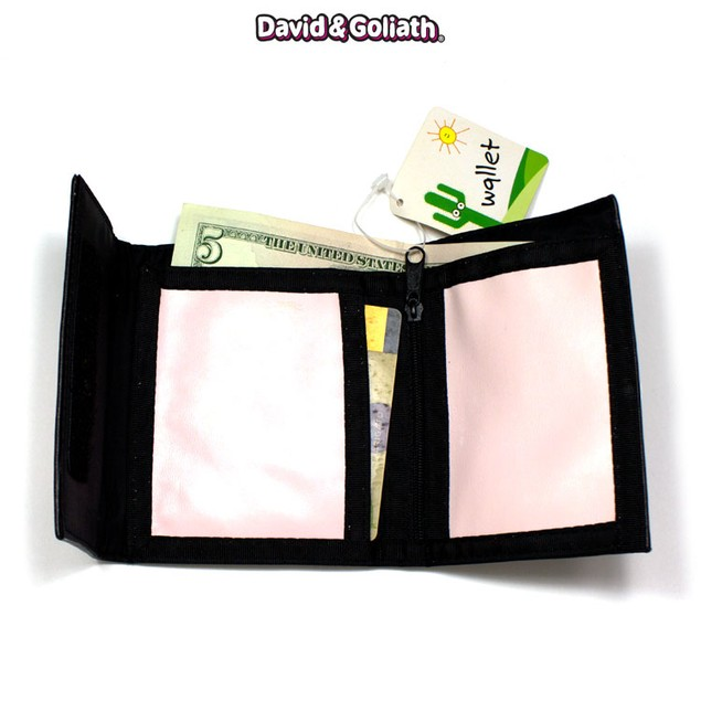"David and Goliath ""Drama Queen"" Bi-Fold Wallet"