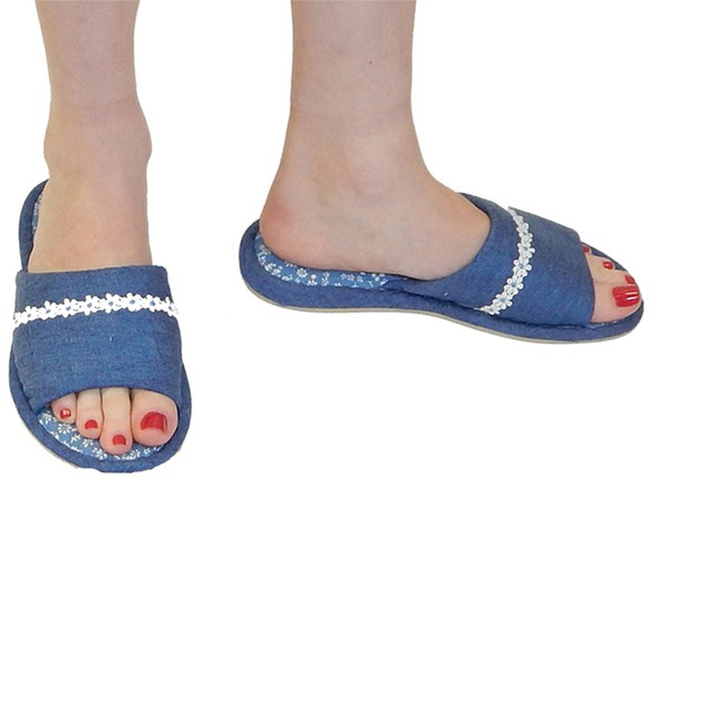Women's Designer Marcia Slippers