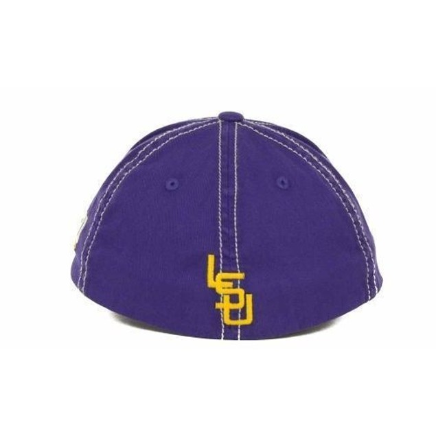 """LSU Tigers NCAA TOW """"Simplicity"""" Stretch Fitted Hat"""