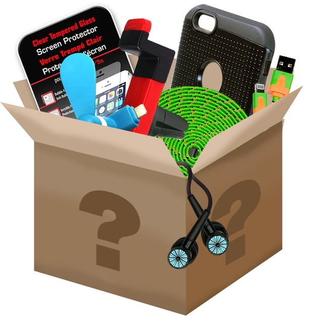 6-Pack Mobile Accessory Mystery Bundle