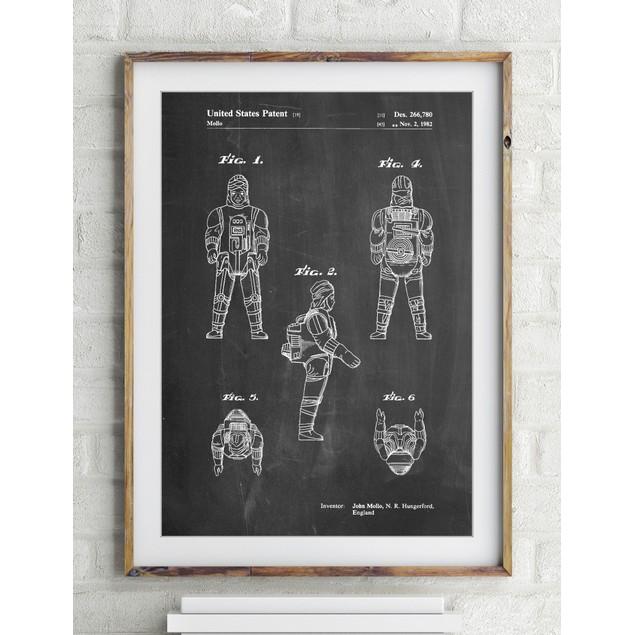 Star Wars Dengar Patent Poster