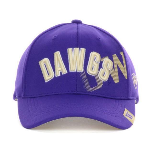 """Washington Huskies NCAA TOW """"Glance"""" Adjustable Hat"""