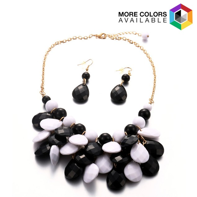 Statement Necklace and Earring Set